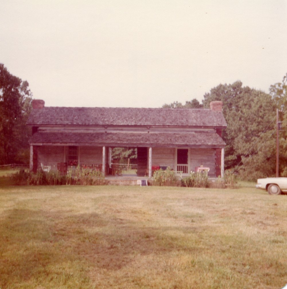 Ames Plantation dog trot cabin