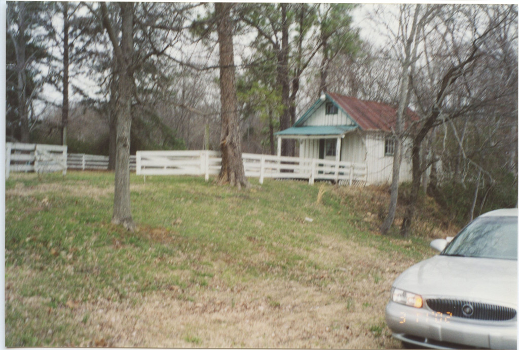House on Morrison property