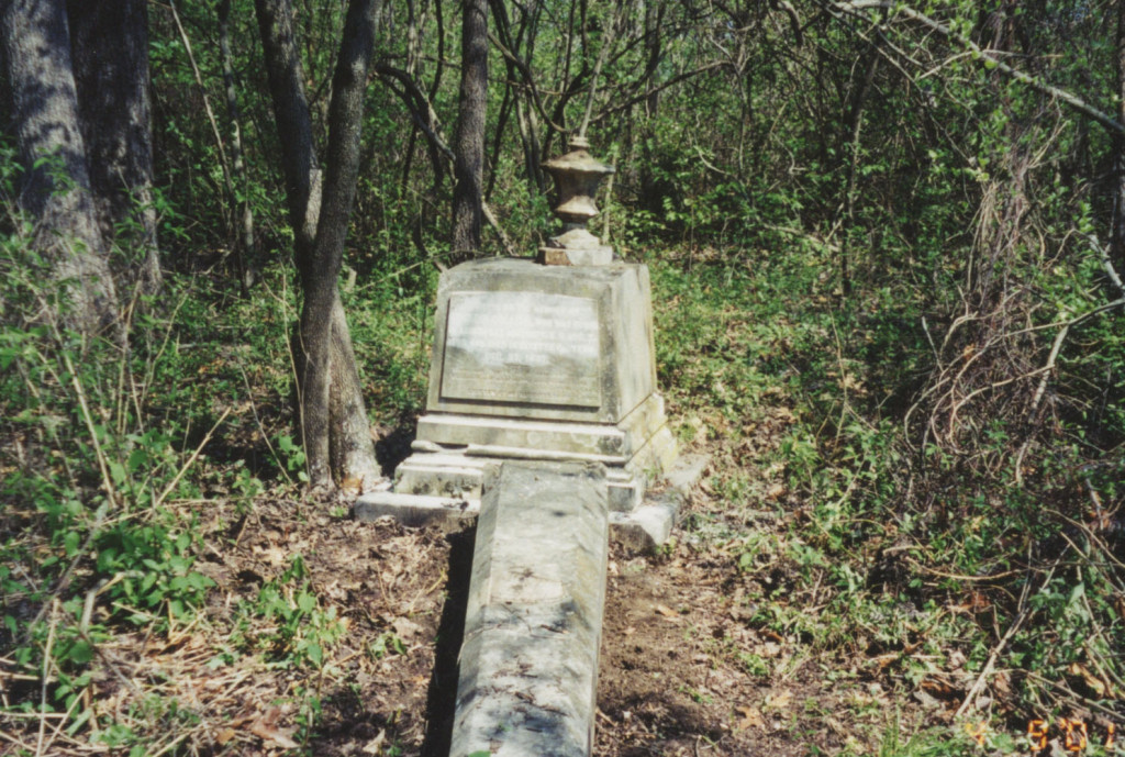 Bouldin Collier tombstone