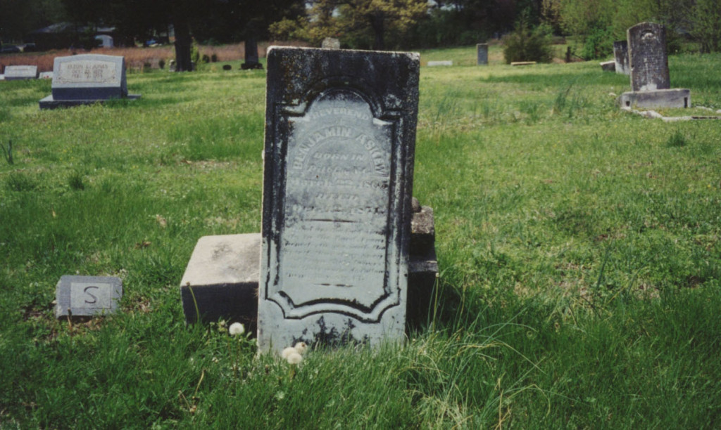 Rev. Benjamin Askew tombstone