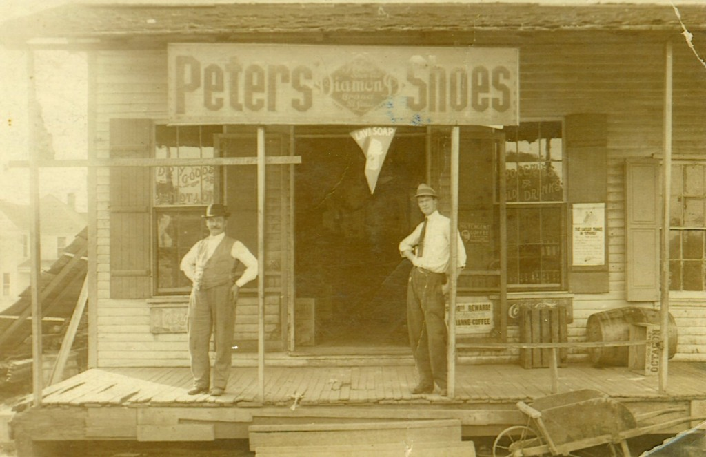 Clarence Waller's store