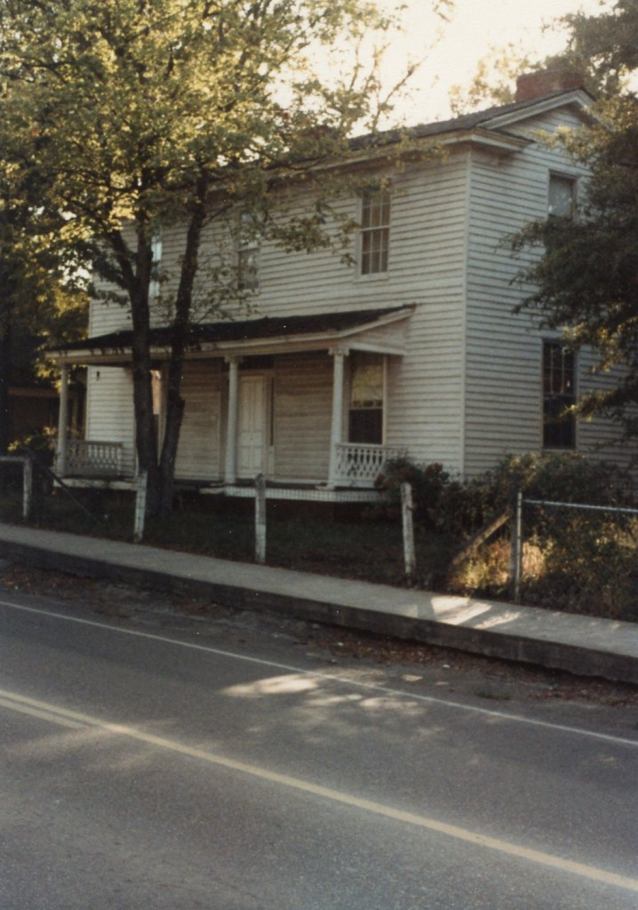 Hilliard house, South Main Street