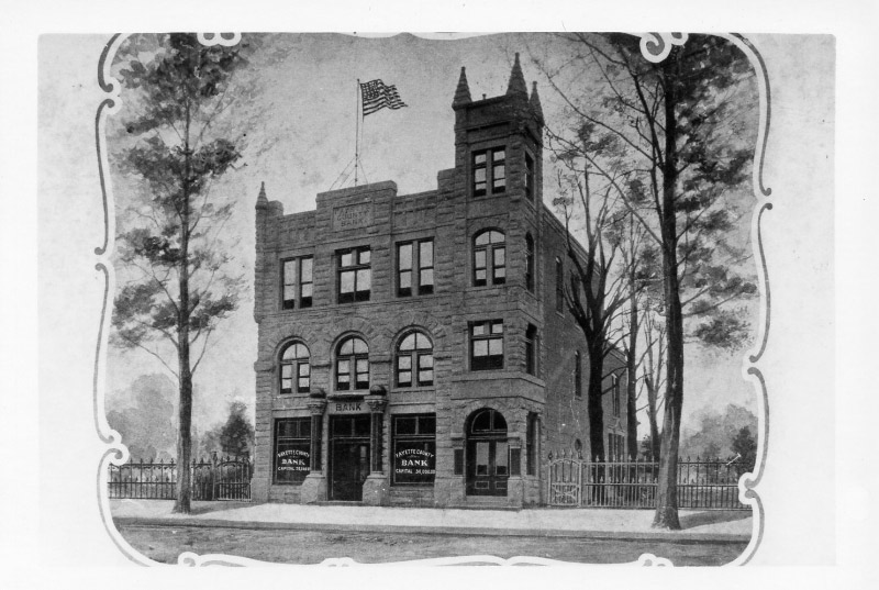 The Fayette County Bank 1895